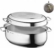 WMF Roasting Pan With Lid Oval 0788009990
