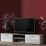High glossy furniture Simple szafka rtv 180