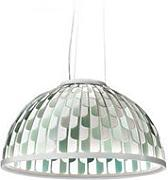 Lampa wisząca dome medium green marki Slamp